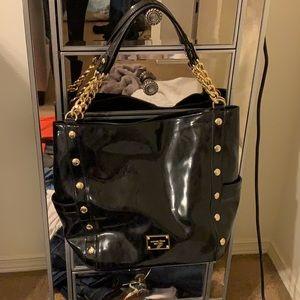 Black Michael Kors bag. Authentic.